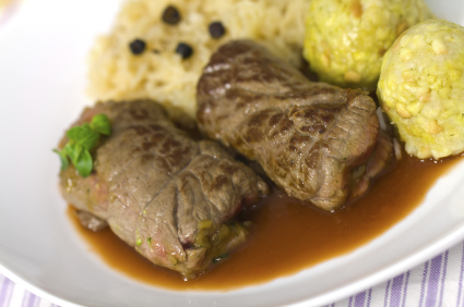 German beef rouladen authentic traditional recipe german recipes