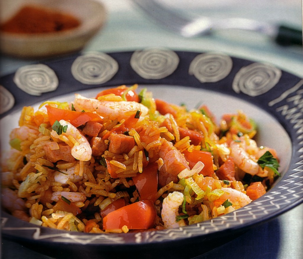 21 Traditional German Recipes You Can T Miss: Spicy Shrimps With Ham And Rice • Best German Recipes