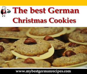 Recipes for german christmas cookies