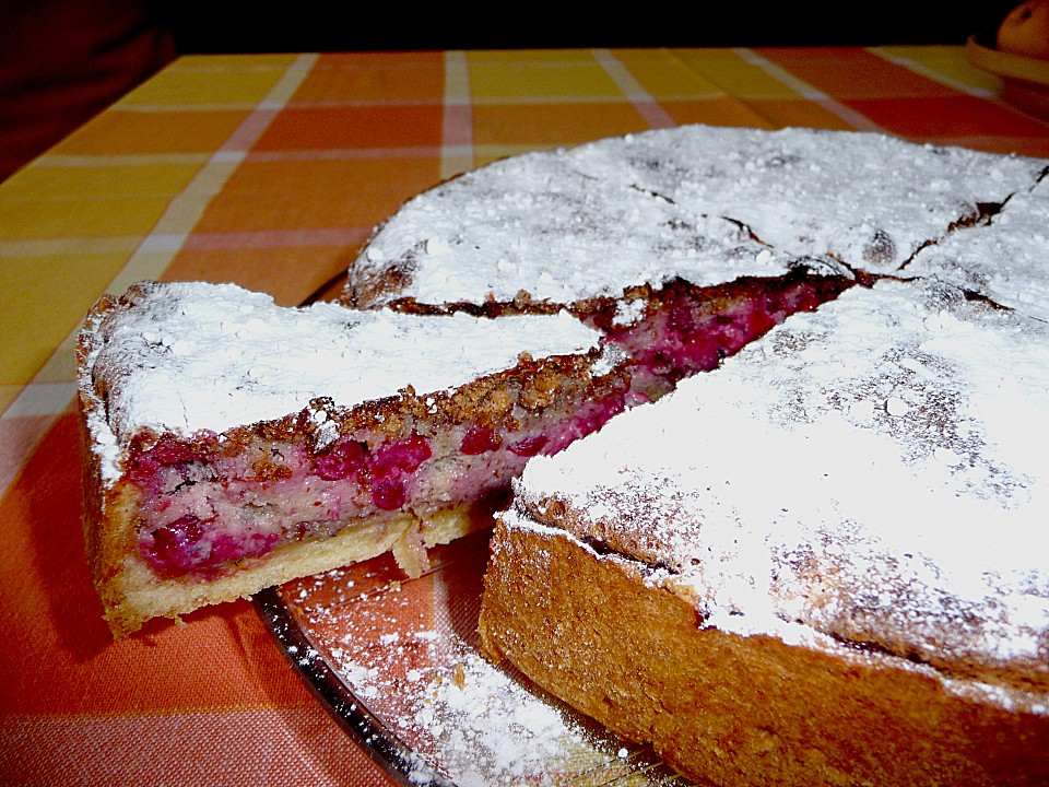 Swabian Red Currant Cake